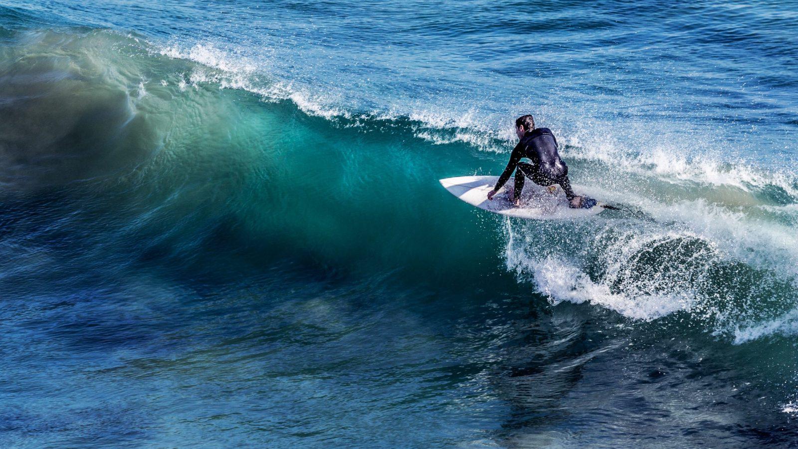 surfing en punta del este